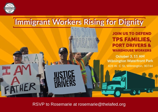 support for Teamsters Port Drivers and TPS families