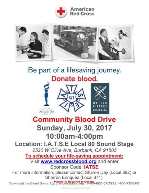 2nd Annual Blood Drive - Donors needed!